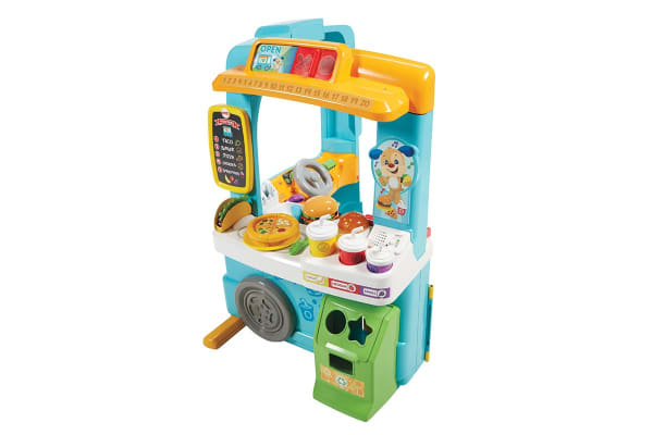 Fisher Price Servin' Up Fun Food Truck