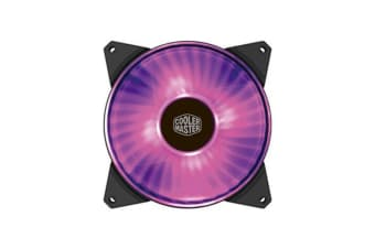 Coolermaster Masterfan 140Mm Rgb Fan Support Cm Plus Software Control