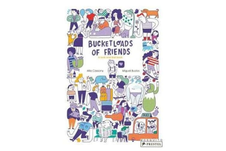 Bucketloads of Friends - A Look and Find Book