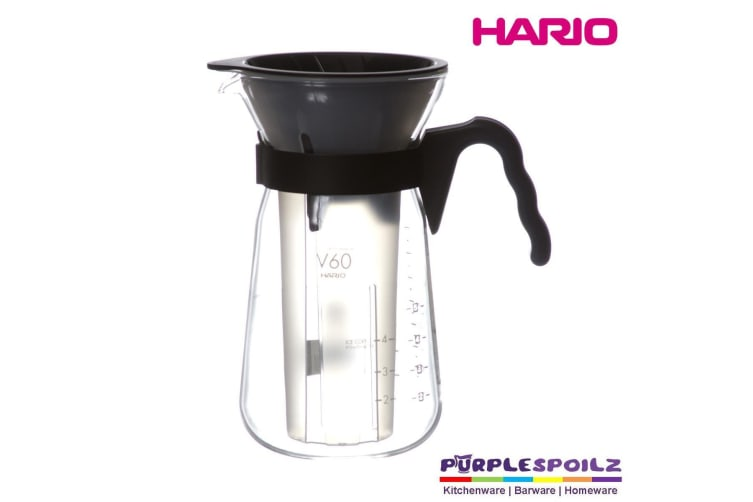 """Hario V60 Ice Coffee Maker """"fretta"""" - Ice Cold Brew - Simple Way To Cool Down"""
