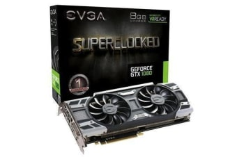 EVGA GeForce GTX1080 SC 8GB GDDR5 Gaming Graphics Card