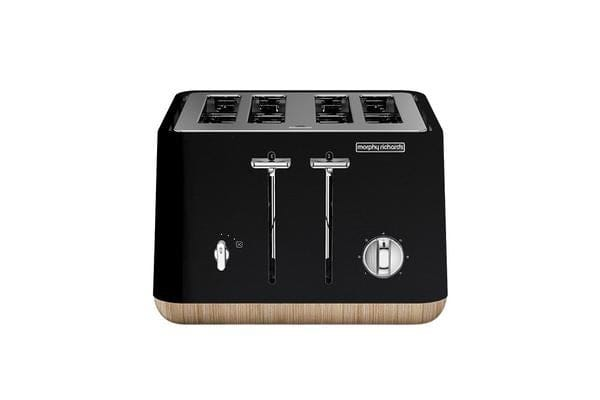 Morphy Richards Aspect Scandi 4 Slice Toaster Black