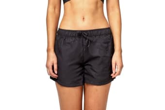 Bonds Women's Active Short (Black, Size XS)