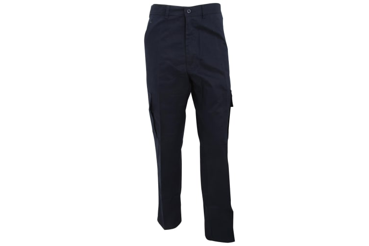 RTY Workwear Mens Combat Trousers (Navy) (48T)