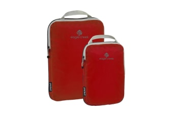 Eagle Pack-It Specter Compression Cube Set - Volcano Red