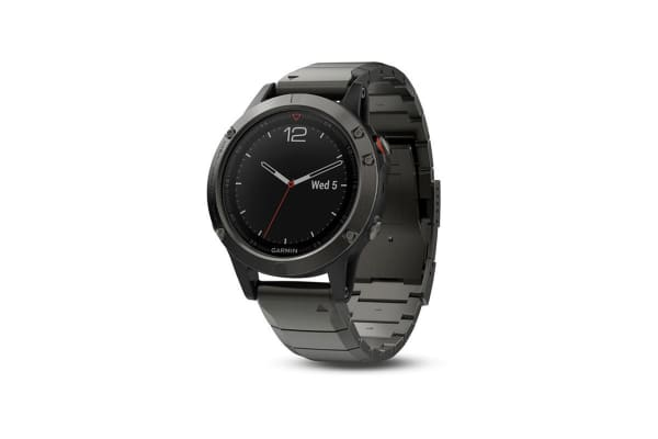 Garmin Fenix 5 Sapphire Edition Slate Gray with Metal Band