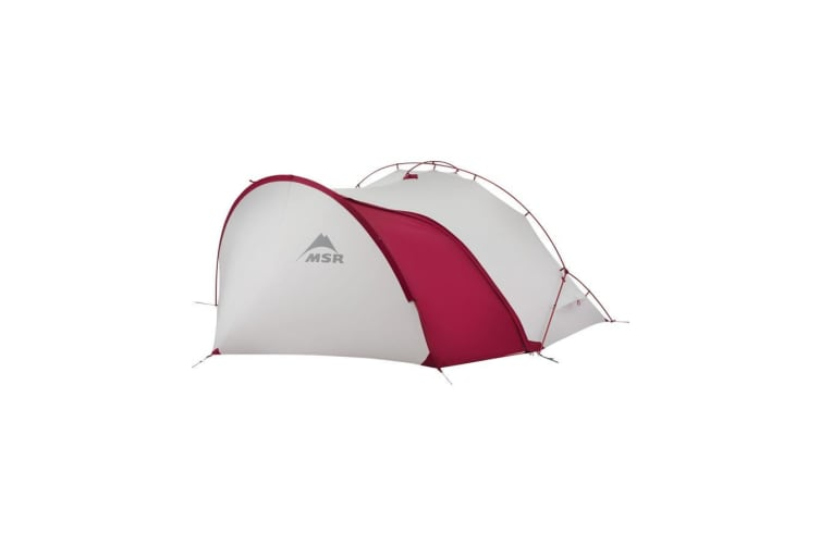 MSR Hubba Tour 1 Shelters Backpacking Tents Grey/Red
