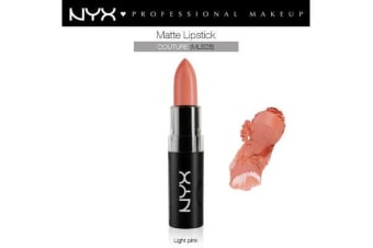 Nyx Matte Lipstick Couture Light Pink Cream Natural #Mls28
