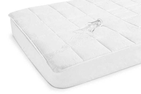 Ovela Fitted Cotton Mattress Protector (Single)