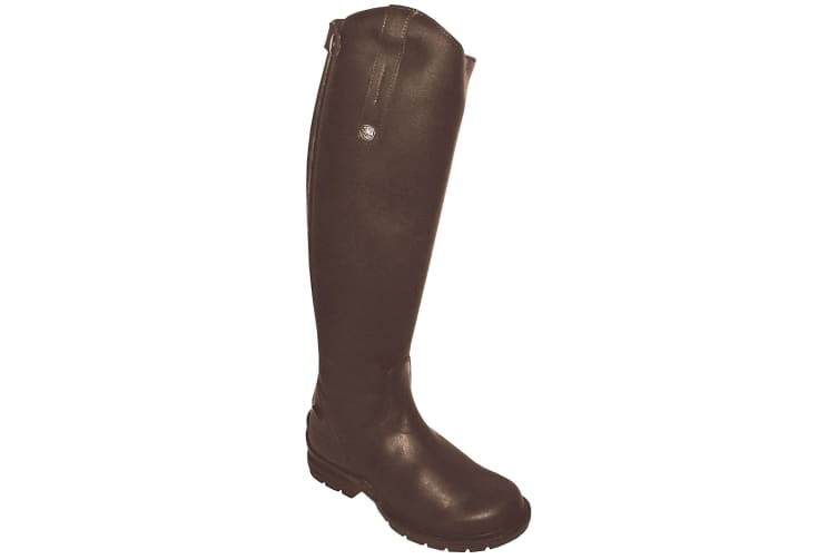 Mark Todd Adults Tall Fleece Lined Winter Boots (Brown) (10 UK (Wide))