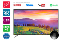 "Kogan 49"" 4K LED TV (Series 8 JU8000) including Google Chromecast"