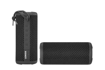 Lenoxx IPX7 Waterproof Bluetooth Speaker - Black