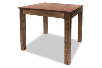 vidaXL Dining Table Solid Reclaimed Wood 82x80x76 cm