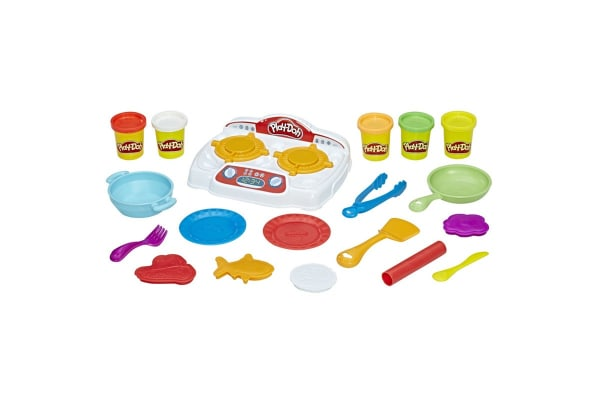 Play Doh Kitchen Creations Sizzlinu0027 Stovetop