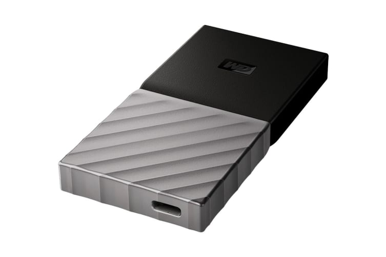 WD My Passport SSD 256GB Portable Hard Drive (WDBKVX2560PSL-WESN)