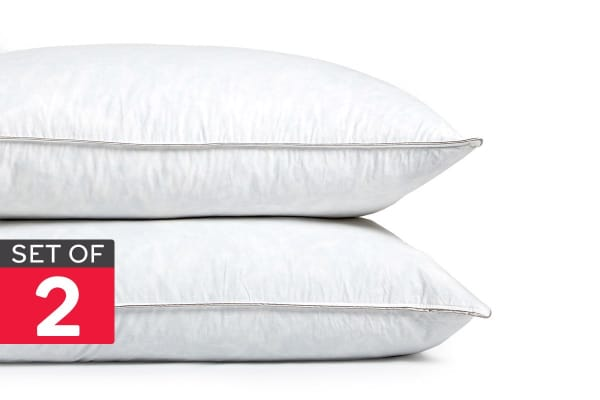 Gioia Casa Twin Pack Feather Pillows (1kg/Soft Feel)
