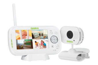 "Uniden 4.3"" Digital Wireless Baby Video Monitor with Remote Viewing"