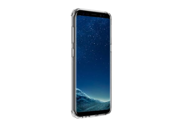 Samsung Galaxy S8+ Slim Bumper Case (Clear)
