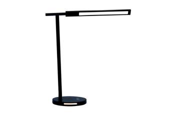 Select Mall Bedroom Bedside Reading Lamp Eye Protection Lamp Smart Metal Table Lamp Foldable Table Lamp-Black