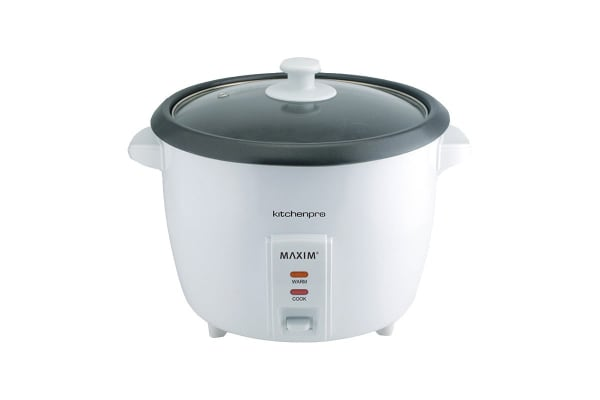 Maxim 10 Cup Rice Cooker - White (RC10)