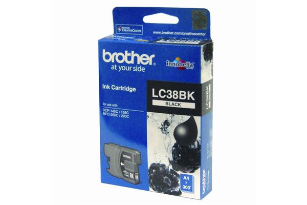Brother LC-38BKBlack Ink Suits DCP-165C
