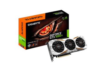 Gigabyte GeForce GTX1080 Ti Gaming Series 11GB GDDR5X Graphics Card Built for Extreme Overclocking
