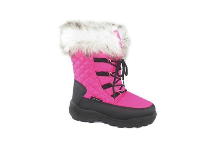 XTM Kid Female All Terrain Boots & Shoes Inessa Girls Boot Candy - 29-30