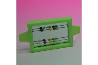 Clip On Mirror with Beads for Birds