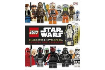 LEGO Star Wars Character Encyclopedia, Updated and Expanded - With Minifigure