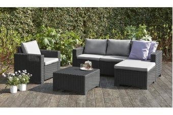 Keter Moorea Outdoor Furniture Lounge Set