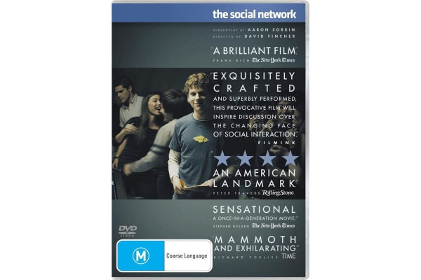The Social Network DVD Region 4