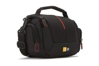 Case Logic Camera Bag with Shoulder Strap - Black