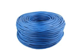 100m 330ft CAT6 Ethernet Network Cable Internet Patch router Blue NBN PS4 Xbox