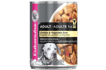 Eukanuba Adult Chicken Vegetable Cans - 12 Cans