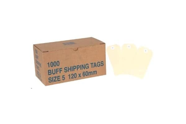 Globe Manilla Tags No.5 120 x 60mm Box 1000