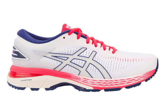 ASICS Women's Gel-Kayano 25 Running Shoe (White/White, Size 11)