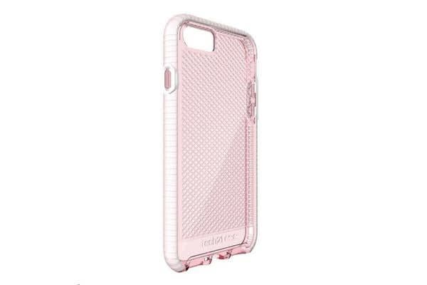 TECH21 Tech 21 Evo Check for iPhone 7- Light Rose/White