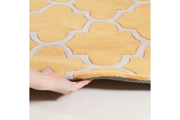 Lattice Orange Rug 280x190cm