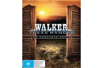 Walker Texas Ranger The Complete Series DVD Region 4