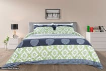 Trafalgar Bloom Cotton Quilt Cover Set