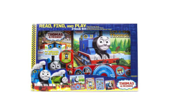 Thomas & Friends Read, Find And Play 3-Book Set