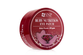 SNP Ruby Nutrition Eye Patch (Nourishment & Radiance) 60x1.25g/0.04oz