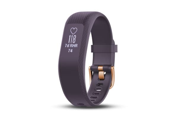 Garmin Vivosmart 3 (Small, Purple with Rose Gold Buckle)
