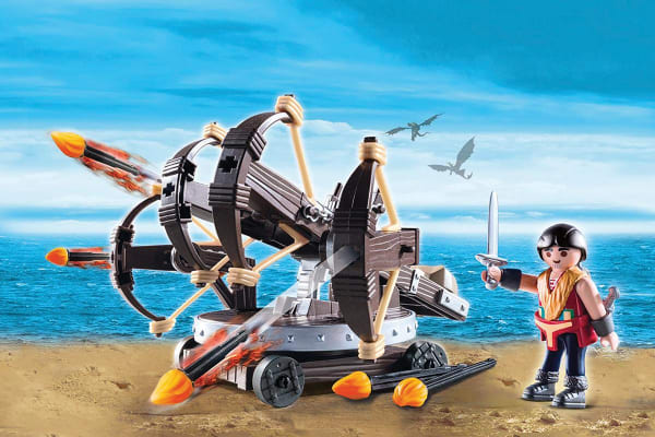 Playmobil How to Train Your Dragon Eret with Fire Ballista