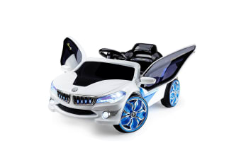 Rovo Kids Kids Ride-On Electric Car BMW i8 Style - Battery Children Sports Toy Remote