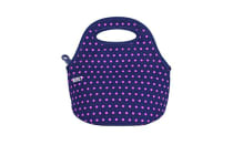 BUILT NY Gourmet Getaway Mini Lunch Tote Mini Dot Navy