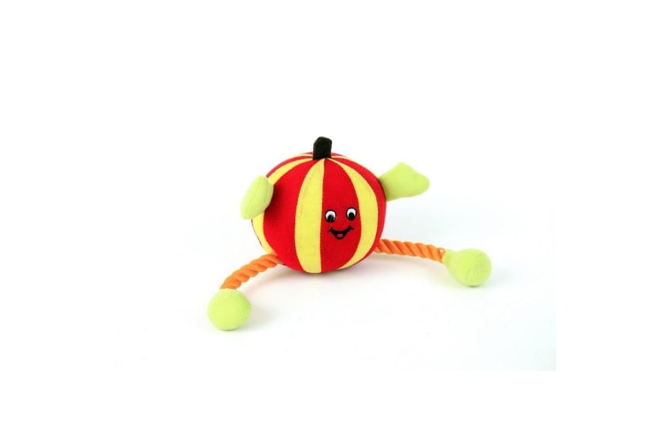 Animate Red Humbug Ball Dog Toy (May Vary) (One Size)