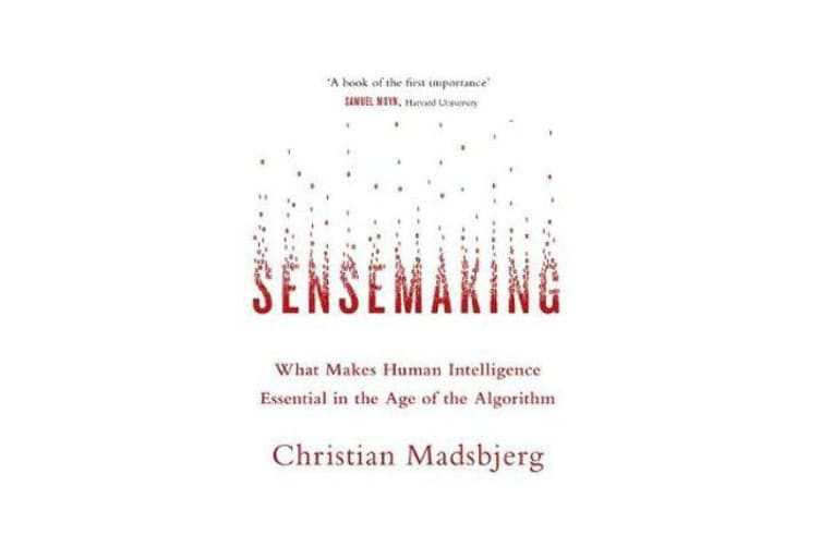 Sensemaking - What Makes Human Intelligence Essential in the Age of the Algorithm