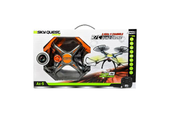 AeroQuest Storm Bringer Remote Control Drone in Orange
