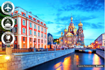 EUROPE: 22 Day Baltic & Mediterranean Cruise Package Including Flights For Two